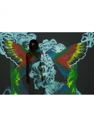 Young British Designers: MIDNIGHT BIRDS- LUXE SILK SCARF by ED-LONDON