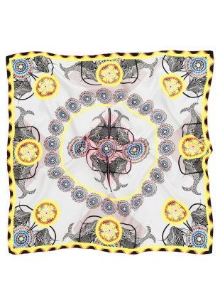 Young British Designers: The Sea of Beauty Scarf in Daffodil Yellow - last one by Bella Singleton