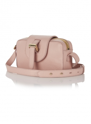 MICRO BOX CROSS BODY BAG IN ORCHID  by Meli Melo