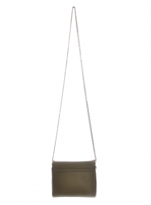 Young British Designers: Yael Mini Bag In Olive by GVYN