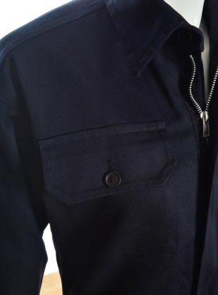 Young British Designers: Black Cotton Boiler Suit - last one by Kate Sheridan