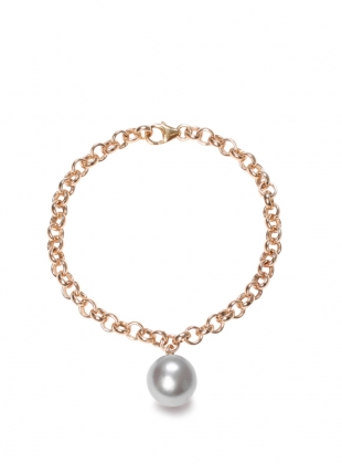 Grey XXL Pearl Magna Bracelet - last one by Ora Pearls