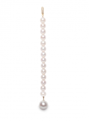Young British Designers: XL Pearl Lariat Necklace by Ora Pearls