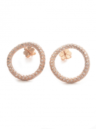 Young British Designers: Hula Hoop Earrings  by Maha Lozi