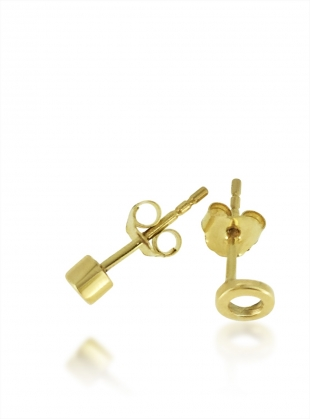 Young British Designers: Gold Hug Studs by Maya Magal