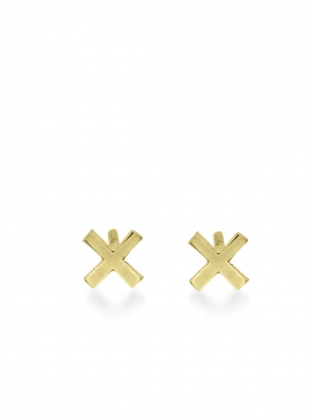 Young British Designers: KISSES STUDS IN GOLD by Maya Magal