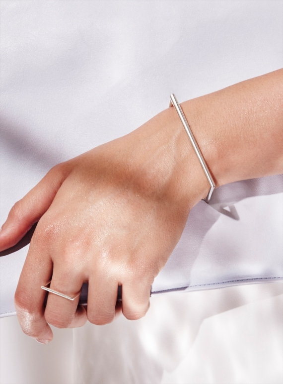 Young British Designers: INDUSTRIA BANGLE- last one  by Mei-Li Rose