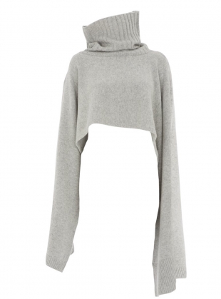 FRANZI CAPE in Grey by Eudon Choi
