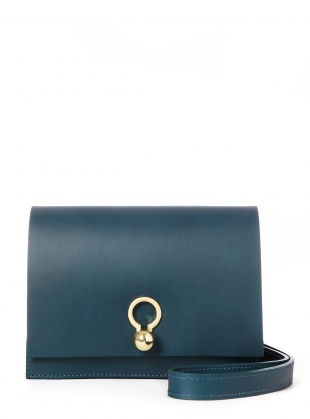 CHARLIE Box in Petrol Blue Leather by Danielle Foster