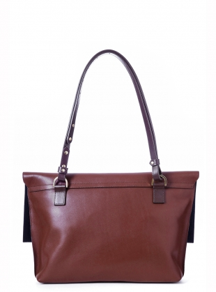 Young British Designers: MARA Shoulder Bag in Almond by Danielle Foster