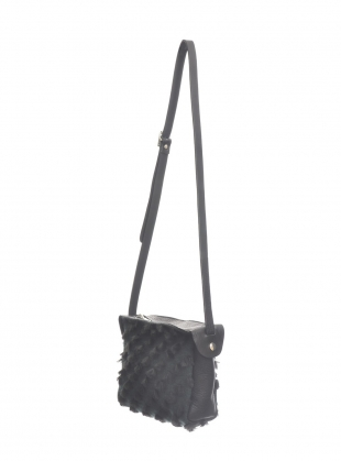 Young British Designers: CRESCENT Crossbody BAG in Sheepskin - last one by Kate Sheridan