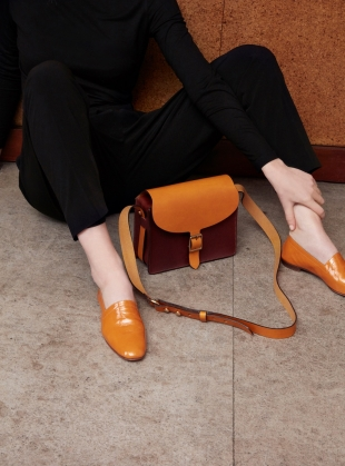 ARAU Satchel- Tan/Yellow Ochre by M.Hulot