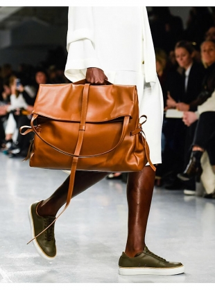 MULLER LARGE BAG in Tan - last one by Eudon Choi