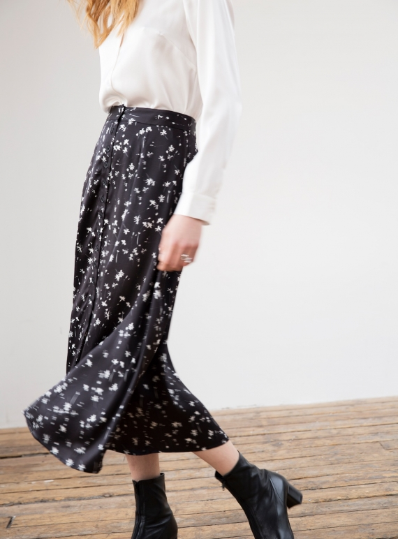 Young British Designers: Dark Romance Skirt - Last one by Kelly Love