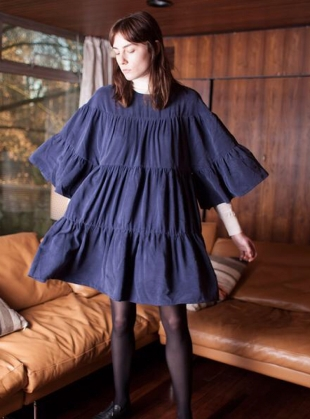 Navy HENDERSON Dress by LF Markey