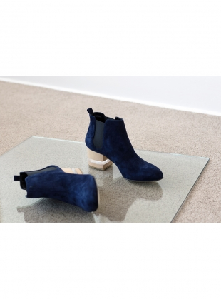 FLOAT ANKLE BOOT, SAPPHIRE by Dear Frances