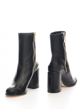 Young British Designers: Spirit Boot in Black - last pair (35) by Dear Frances