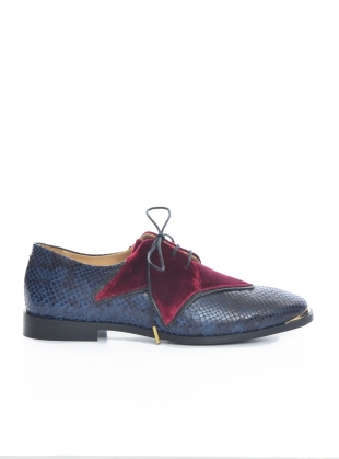 SUPERSTAR Velvet Brogue by Rogue Matilda