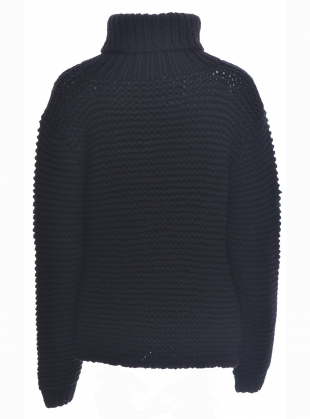 Young British Designers: Lost Memories Roll Neck Knit - Last one by Kelly Love
