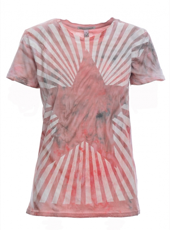 Young British Designers: RED STAR TEE - Last one by Simeon Farrar