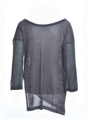 Young British Designers: SPARKLE SHARD Knit Top by Caitlin Charles-Jones