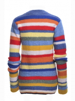 Young British Designers: GRACE Striped Hand-Knit - sold out by Belize