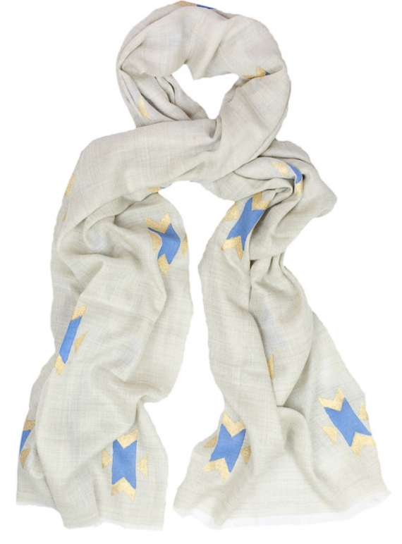 Young British Designers: Cashmere Shawl Navajo - sold out by Beshlie McKelvie