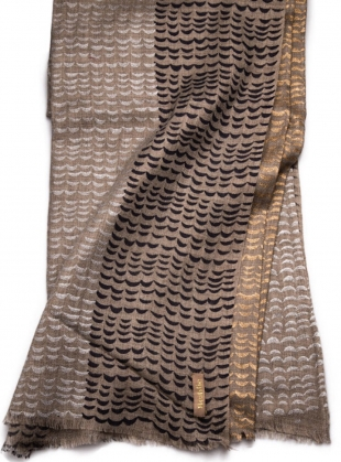Young British Designers: Cashmere Shawl Luna - last one by Beshlie McKelvie