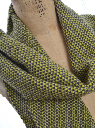 Young British Designers: Listowel Birdseye Scarf by McConnell