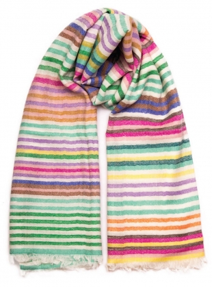 Young British Designers: The Rainbow Scarf by Beshlie McKelvie