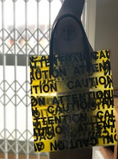 PVC ATTENTION TOTE - Last one