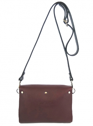 Young British Designers: RHYTHM BAG in Tumbled Pruna - last one by Kate Sheridan