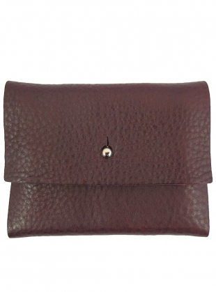 NEW LOUX WALLET in Tumbled Pruna by Kate Sheridan