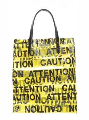 PVC ATTENTION TOTE - Last one by Simeon Farrar