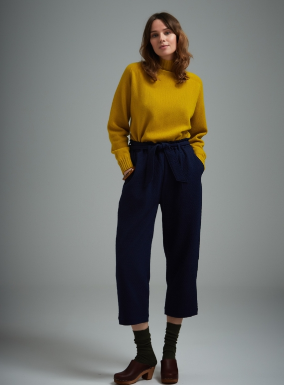 Young British Designers: Malin Tie Waist Trousers - Last pair by SIDELINE