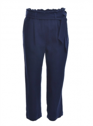 Malin Tie Waist Trousers by SIDELINE