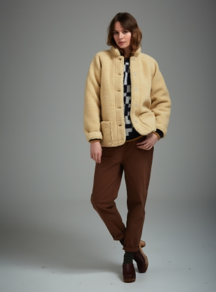Young British Designers: TALA Trousers in Tobacco - Last pair by SIDELINE