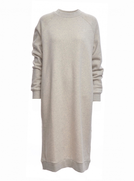 Young British Designers: PARKER Organic Cotton Dress in Light Grey - last one by Beaumont Organic