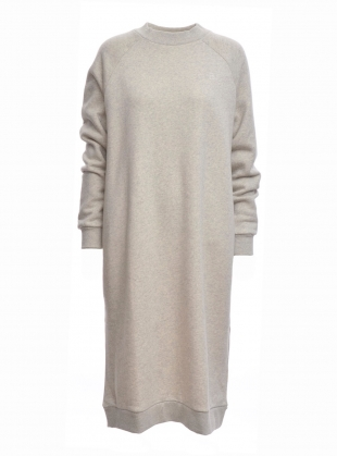 PARKER Organic Cotton Dress in Light Grey - last one by Beaumont Organic