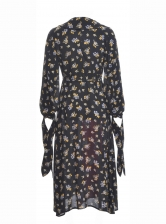 PAIGE SILKEN MIX PRINT DRESS