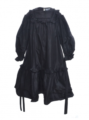 Pleated Victorian Taffeta Dress - Last one (6) by Natalie B Coleman