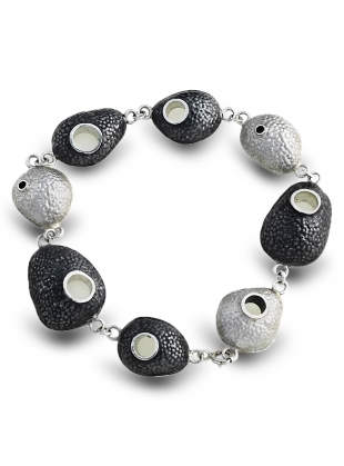 Intricate Pebble Bracelet by Agneta Bugyte