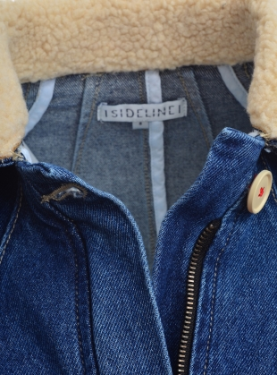 Young British Designers: RAE Denim Jacket - last one (XS) by SIDELINE