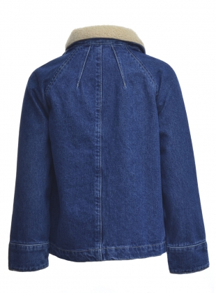 Young British Designers: RAE Denim Jacket - last one by SIDELINE