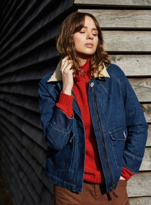 RAE Denim Jacket - last one by SIDELINE