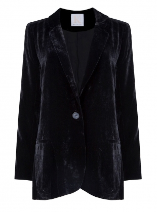 NIGHT SKY Velvet Blazer by Kelly Love