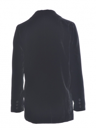 Young British Designers: NIGHT SKY Velvet Blazer - Last one (14) by Kelly Love