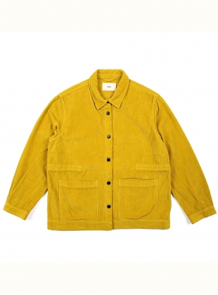 PAINTERS Jacket in Sulphur Cord  by Folk