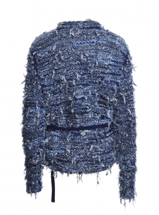 Young British Designers: RECYCLED BLUE JEANS JACKET by Alice Lee