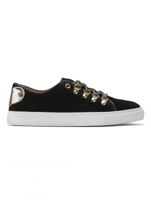TOUGH LOVE SNEAKER in Black Velvet - Last pair (36) by Rogue Matilda